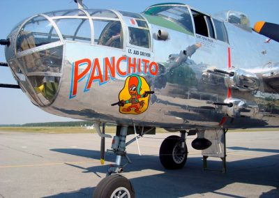 B-25 Panchito - brakes by Rochester Clutch!