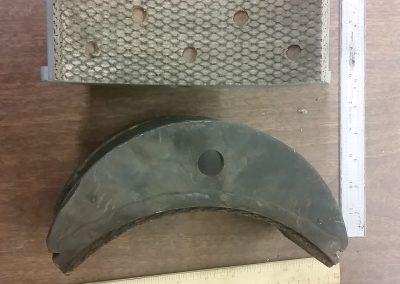 Crane brake shoes