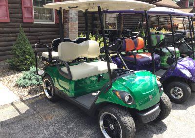 Golf cart brake shoes