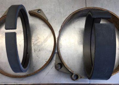 Gearmatic winch bands